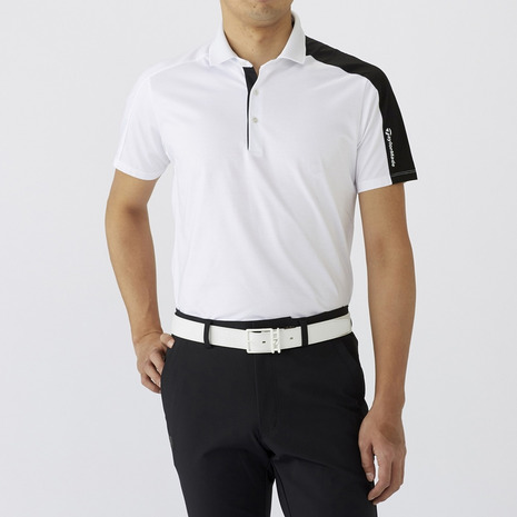 テーラーメイド(TAYLORMADE) ゴルフウェア メンズ ジャカードカラー S/S ポロ LOB82-U24278 (Men's)