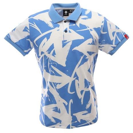【ポイント最大24倍!0のつく日限定!エントリー要】デサントゴルフ(DESCENTEGOLF) ゴルフ ポロシャツ メンズ 万美コレクション ショートスリーブシャツ DGMPJA13-SA00 (Men's)
