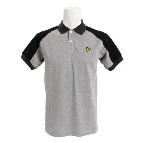 ライルアンドスコット(LYLE&SCOTT) 半袖ポロシャツ LG-18S-P03-GREY (Men's)