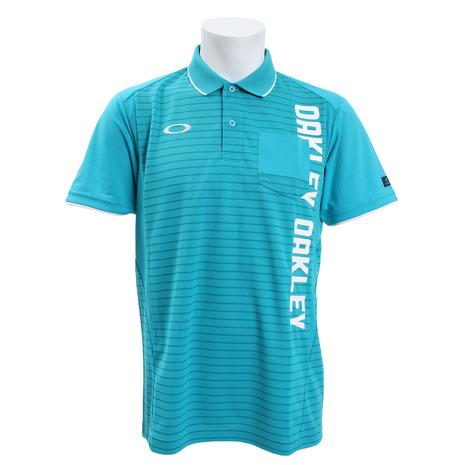 オークリー(OAKLEY) ゴルフ ウエア ポロシャツ メンズ メンズ Vertical 半袖ポロシャツ 434470JP-6AD (Men's)