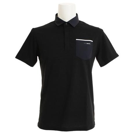 テーラーメイド(TAYLORMADE) ゴルフウェア メンズ パンチングポケット 半袖ポロシャツ LOB88-U24301 (Men's)