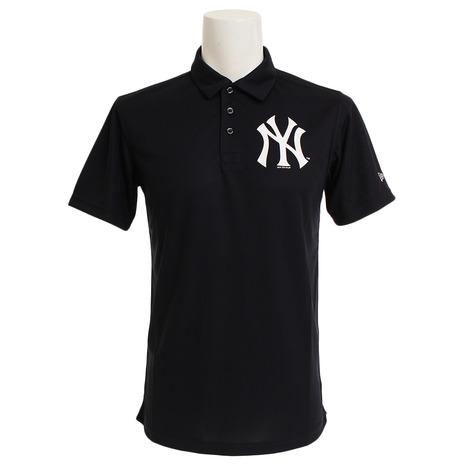 ニューエラ(NEW ERA) ニューヨーク・ヤンキース 鹿の子ポロ 11556834 メンズ 半袖ポロシャツ (Men's)