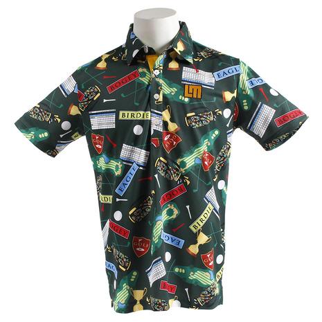 ラウドマウス(LOUDMOUTH) ゴルフウェア メンズ メンズ 768601-123 半袖シャツ 768601-123 半袖シャツ (Men's), 枡工房枡屋:5bddb3c1 --- sunward.msk.ru