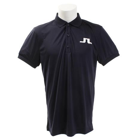 Jリンドバーグ(J.LINDEBERG) ゴルフウェア BIG BRIDGE REG FIT 半袖ポロシャツ 071-29344-098 (Men's)