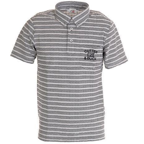カッターアンドバック(CUTTER&BUCK) サッカーボーダーBDカラーシャツ CGMPJA38-GY00 (Men's)