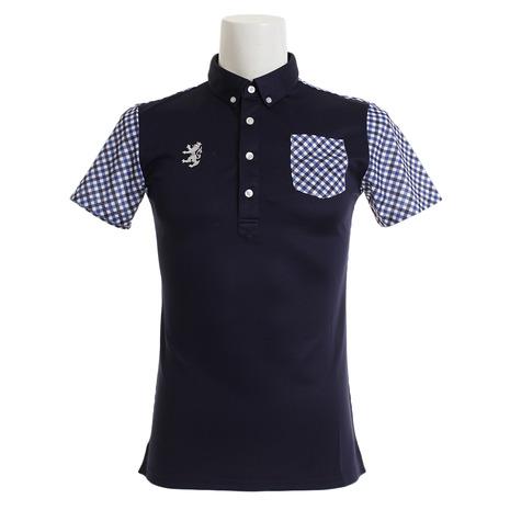 アドミラル(Admiral) BDシャツ ゴルフウェア メンズ メンズ リコチェック BDシャツ ADMA923-NVY リコチェック (Men's), インドカレーの店 アールティ:6ae360c1 --- sunward.msk.ru