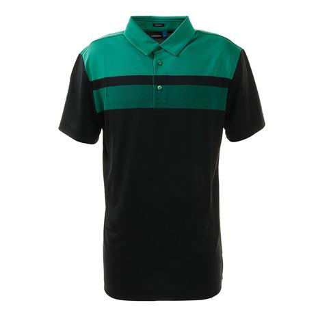 Jリンドバーグ(J.LINDEBERG) ゴルフウエア メンズ バッグロゴプリント 半袖ポロシャツ 071-22344-019 (Men's)