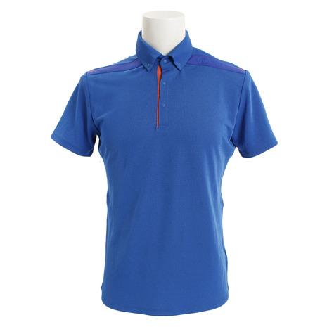 テーラーメイド(TAYLORMADE) ベンチレーション ボタンダウン 半袖ポロシャツ KL900-N64906 (Men's)