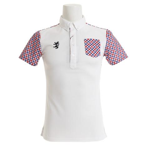 アドミラル(Admiral) ゴルフウェア メンズ リコチェック BDシャツ ADMA923-WHT (Men's)