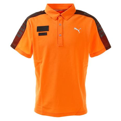 ゴルフクラブ おすすめ まとめ買い特価 メンズ ヴィクトリアゴルフ アマチュア プーマ PUMA 930012-02 SS ゴルフ ポロシャツ 2020 新作 半袖 ケージド