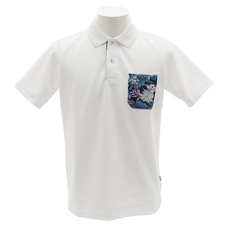 マンシングウエア(MUNSING WEAR) デュアルコンフォート 半袖ポロシャツ MGMLJA16-WH00 (Men's)