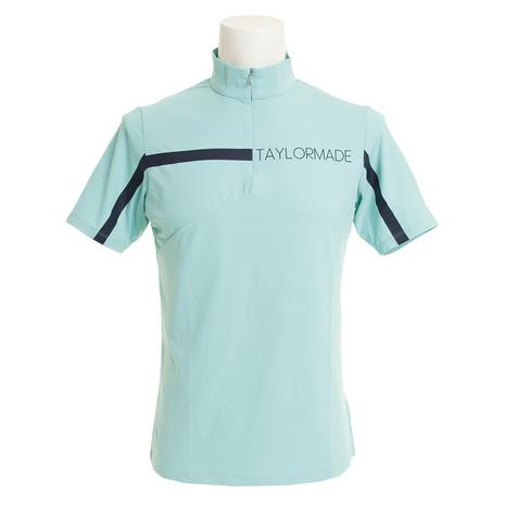 テーラーメイド(TAYLORMADE) ゴルフウェア (Men's) ゴルフウェア メンズ ハーフジップ 半袖 モックシャツ KY380-U24581 KY380-U24581 (Men's), TOOL FOR U:9f63bf99 --- sunward.msk.ru