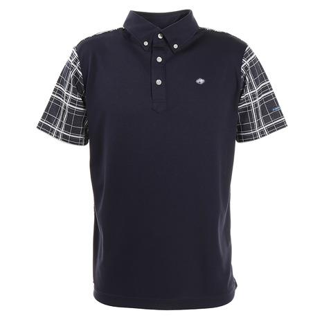 フィドラ(FIDRA) チェックポロシャツFI51TG02 NVY (Men's)