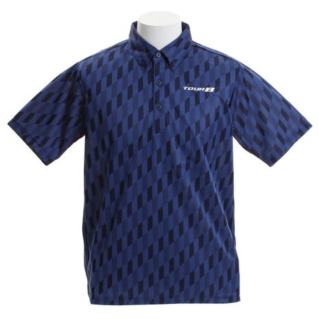 ブリヂストンゴルフ(BRIDGESTONE GOLF) 半袖 ボタンダウンシャツ NGM03ANA (Men's)