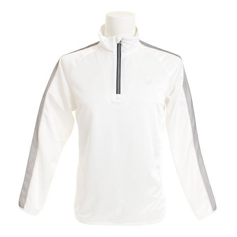 輝く高品質な セントアンドリュース(ST.ANDREWS) 042-9162351-030 White Label Label White ブライト鹿の子ハーフジップ 042-9162351-030 (Men's), クスバシハクイ:e7466378 --- wap.pingado.com