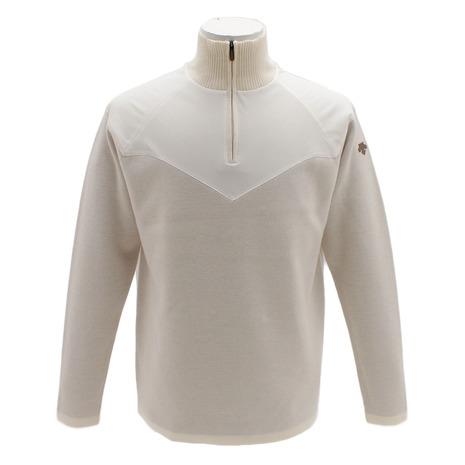 デサントゴルフ(DESCENTEGOLF) セーター Wフェイスストレッチ DGMMJL10-WH00 (Men's)