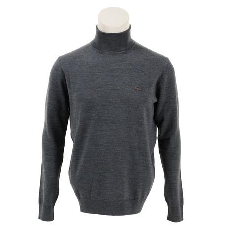 ラコステ(LACOSTE) ウォッシャブル メリノウール セーター AH299EL-UWC (Men's)