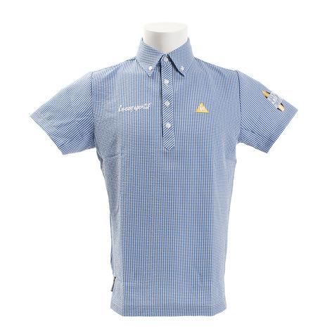 ルコック ルコック スポルティフ(Lecoq Sportif) (Men's) ギンガムチェックポロシャツ QGMNJA73-BL01 Sportif) (Men's), 洗車用品のプレステージ:76fcfe2e --- sunward.msk.ru