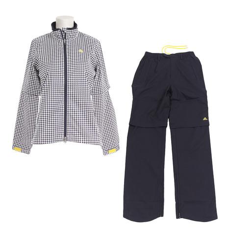 アディダス(adidas) レインウェア スーツ CCM86-N67879 ホワイト (レディース) 《B》 (Lady's)