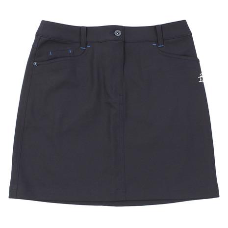 マンシングウエア(MUNSING WEAR) ゴルフウェア レディース ツイルスカート MGWNJE01X-NV00 (Lady's)