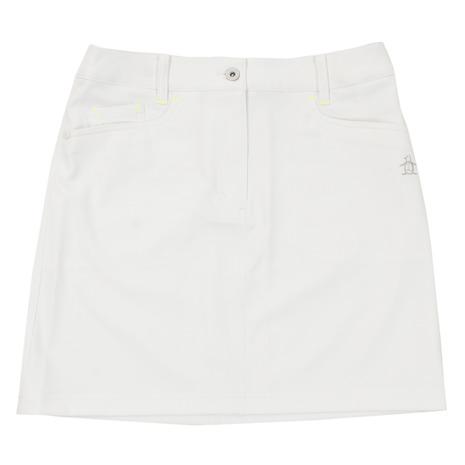 マンシングウエア(MUNSING WEAR) ゴルフウェア レディース ツイルスカート MGWNJE01X-WH00 (Lady's)
