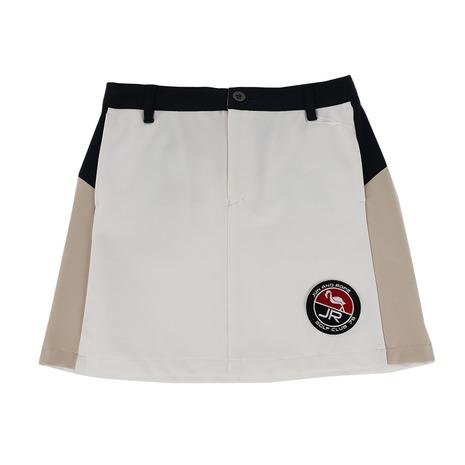 ジュンアンドロぺ(JUN&ROPE) ゴルフウェア レディース ポンチカラーブロックスカート ERC59020-40 (Lady's)
