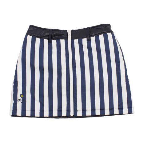 キャロウェイ(CALLAWAY) ストライププリントリバーシブル中綿スカート 241-8225811-120 (Lady's)