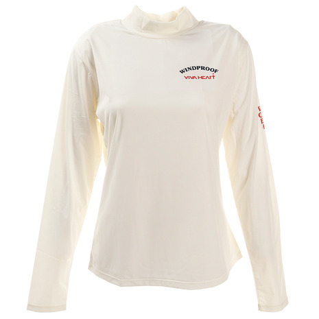 ビバハート(VIVA HEART) エアーシャットハイネック長袖シャツ 012-21912-005 (Lady's)