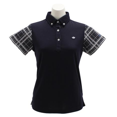 フィドラ(FIDRA) チェックポロシャツ (Lady's) NVY FI51UG02 FI51UG02 NVY (Lady's), クロイソシ:70b8ea6b --- stilus-szenvedelye.hu