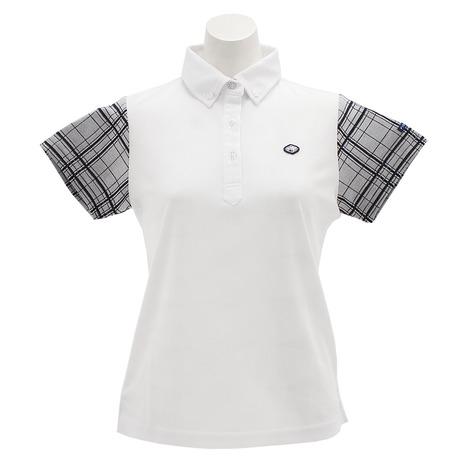 フィドラ(FIDRA) チェックポロシャツ FI51UG02 WHT (Lady's)