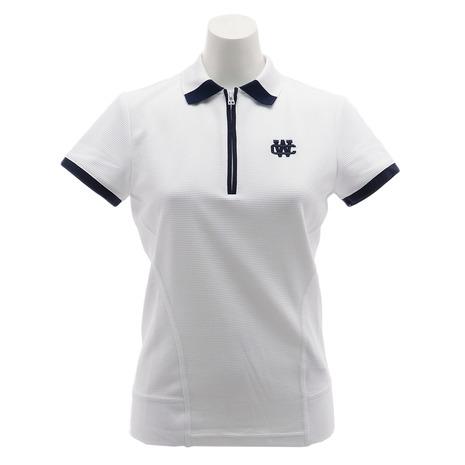 キャロウェイ(CALLAWAY) ゴルフウェア レディース ハーフジップ ポロシャツ 241-9151814-030 (Lady's)