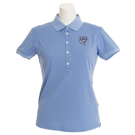 ジュンアンドロぺ(JUN&ROPE) クールマックス 切替ポロシャツ ERM1805-48 (Lady's)