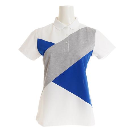 セントアンドリュース(ST.ANDREWS) ゴルフウェア (Lady's) White Label 043-9160454-030 Label COOLハイゲージクロス ポロシャツ 043-9160454-030 (Lady's), 木祖村:6187c4cf --- sunward.msk.ru