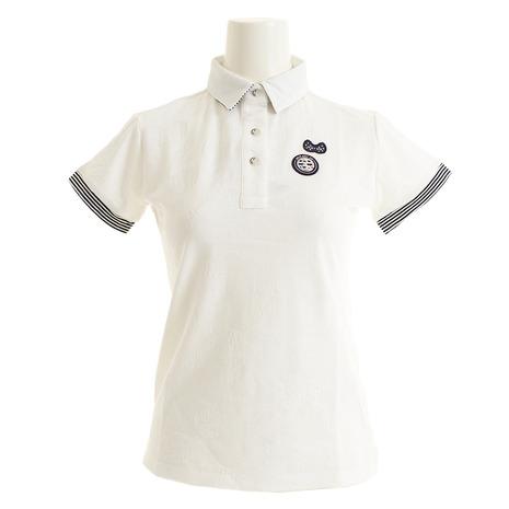 アンパスィ(and per se) ゴルフウェア レディース 半袖ポロシャツ AFS9709X4 10 (Lady's)
