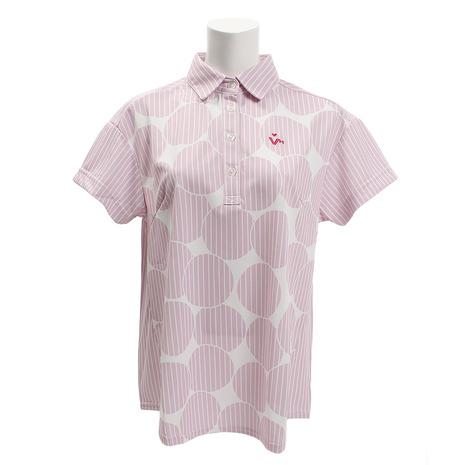 ビバハート(VIVA HEART) ポルカDO 半袖Tシャツ 012-27243-071 半袖 (Lady's)
