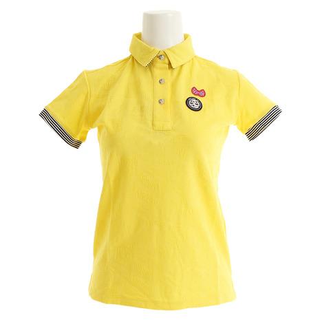 アンパスィ(and per se) ゴルフウェア レディース 半袖ポロシャツ AFS9709X4 70 (Lady's)