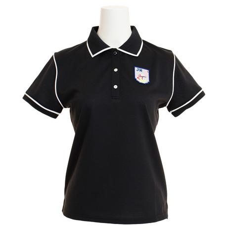 ジュンアンドロぺ(JUN&ROPE) ゴルフウェア レディース パイピング使いポロシャツ ERM29050-01 (Lady's)