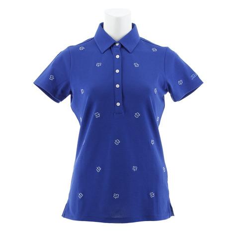 タイトリスト(TITLEIST) クローバー刺繍シャツ TSWC1810BL 半袖 (Lady's)