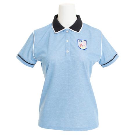 ジュンアンドロぺ(JUN&ROPE) ゴルフウェア レディース パイピング使いポロシャツ ERM29050-48 (Lady's)