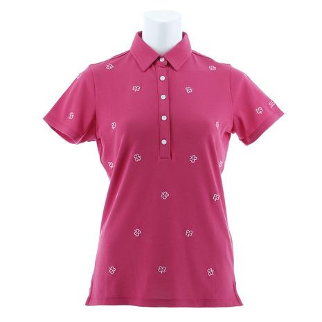 タイトリスト(TITLEIST) クローバー刺繍シャツ TSWC1810PK (Lady's)