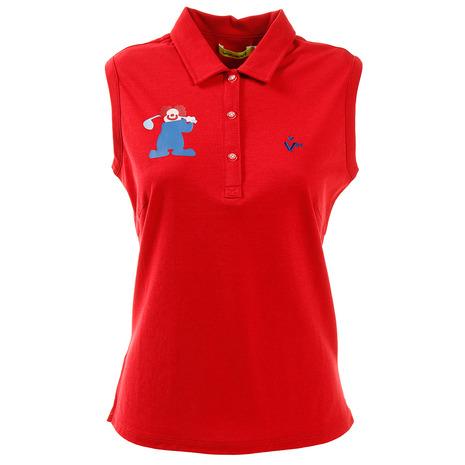 ビバハート(VIVA HEART) HEART) ゴルフウェア レディース SWINGピエロノースリーブシャツ 012-29571-063 012-29571-063 (Lady's) (Lady's), 3R boutique:bb1cfb44 --- sunward.msk.ru