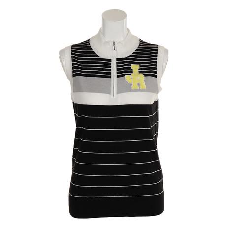 ジュンアンドロぺ(JUN&ROPE) ゴルフウェア レディース ロゴ刺繍ボーダーベスト レディース (Lady's) ERJ39000-01 ERJ39000-01 (Lady's), セブンヘブンストア:4f84870c --- sunward.msk.ru