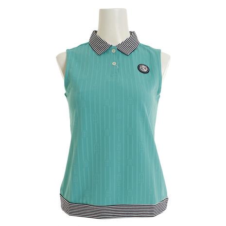 アンパスィ(and per se) ゴルフウェア レディース ノースリーブシャツ AFS9809Y4 60 (Lady's)