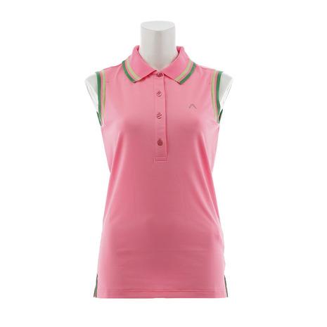 アルベルト(Albelt) 【多少の傷汚れありの為大奉仕】ゴルフウェア レディース ノースリーブポロシャツ FINJA63018B-AL730 (Lady's)