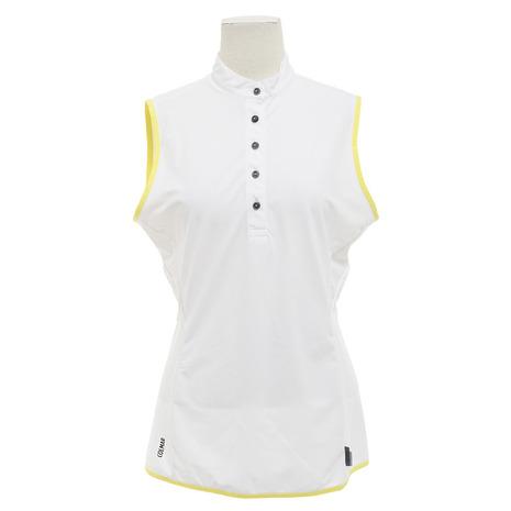 COLMAR ゴルフウェア レディース Lノースリーブシャツスタンドカラー 8708-4RU8B-CL01 (Lady's)