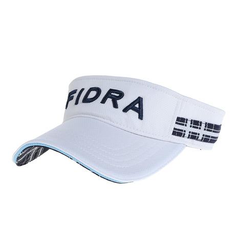 ゴルフウェア おすすめ レディース ヴィクトリアゴルフ 10日限定 最大11%クーポンエントリーでP+4倍 プロ着用モデル メッシュバイザー いよいよ人気ブランド FIDRA FD5HWD07 フィドラ 着後レビューで 送料無料 WHT