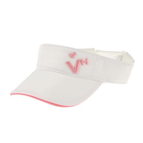 ゴルフウェア おすすめ レディース ヴィクトリアゴルフ 10日限定 最大11%クーポンエントリーでP+4倍 HEART ベーシックバイザー ビバハート 013-54260-005 いよいよ人気ブランド VIVA 受注生産品