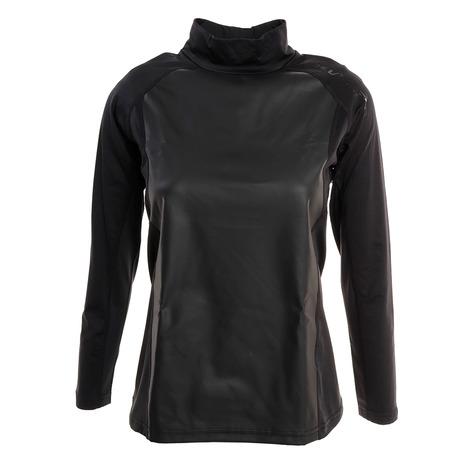 ザ・ワープ・バイ・エネーレ(The Warp By Ennerre) ゴルフウェア レディース 防風インナーハイネックシャツ WB5GUB74 BLK (Lady's)