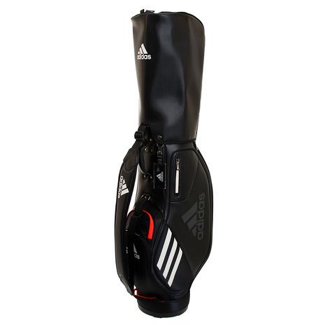 アディダス(adidas) ゴルフ キャディバッグ メンズ パフォーマンスキャディバッグ GUV75-FM5530BK/R (Men's)