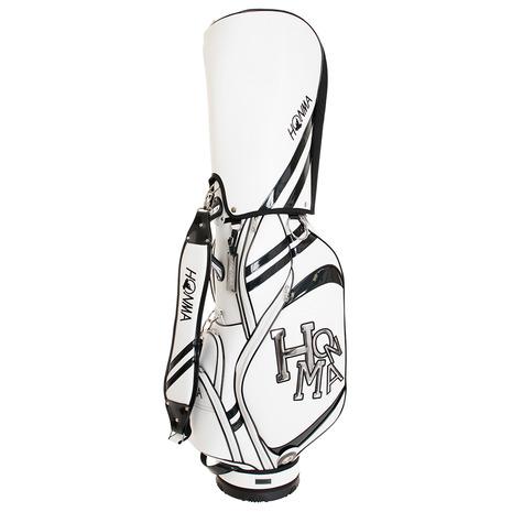本間ゴルフ(HONMA) キャディバッグ メンズ ダンシングHONMAロゴキャディバッグ CB12015 (Men's)